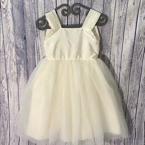 Isabel Garreton Cream Tulle Backless Venice Dress